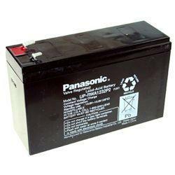 Panasonic Hochstrom Bleiakku UP-RWA1232P2 12,0Volt 4,5Ah mit Faston +6,3 mm -4,8 mm Steckanschlüssen