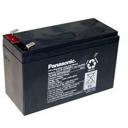 Panasonic Bleiakku LC-P127R2P1 12,0Volt 7.200mAh mit 6,3mm Steckanschlüssen