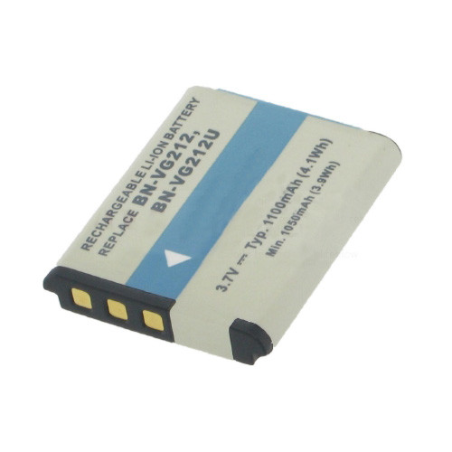 Akku passend für JVC BN-VG212 3,7Volt 1.100mAh Li-Ion (kein Original)