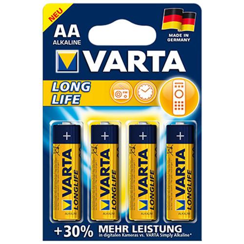 4106 Longlife VARTA Mignon Standard Batterien AA 1,5V - 4er Blister