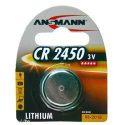 Ansmann CR2450 Lithium Knopfzelle 3,0Volt 560mAh