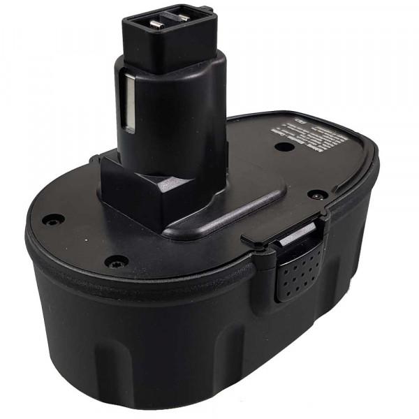 Akku passend für DeWalt DE9095 mit 18V 1,7Ah Ni-MH (P312)
