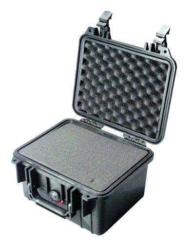 PELI 1300 Schutzkoffer, Case schwarz mit Würfelschaum