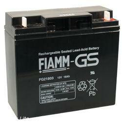 FIAMM Bleiakku FG21803 12 Volt 18Ah mit M5 Schraubanschluss