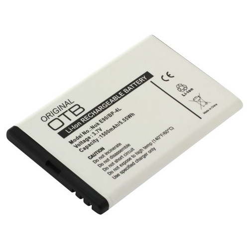 Akku passend für Nokia BP-4L 3,7Volt 1.500mAh Li-Ion (kein Original)