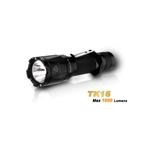 Fenix TK16 Cree XM-L2 U2 LED Taschenlampe mit 1.000 Lumen und 240 Meter Leuchtweite