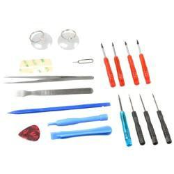 18-tlg Werkzeug-Set zur Reparatur von Smartphone, Tablet oder Notebook