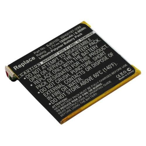 Akku passend für HTC One X / XL (BJ83100) 3,7Volt 1800mAh Li-Poly (kein Original)