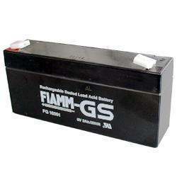 FIAMM Bleiakku FG10301 6,0 Volt 3,0 Ah mit 4,8mm Steckanschlüssen