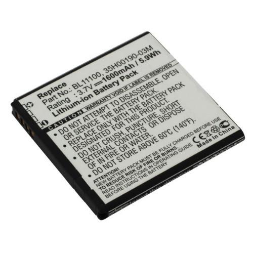Akku passend für HTC BA-S800 3,7Volt 1600mAh Li-Ion (kein Original)