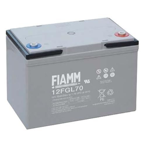 FIAMM Bleiakku 12FGL70 12 Volt 70Ah mit M6 versenkter Schraubanschluss