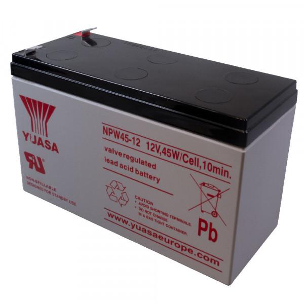 YUASA Bleiakku NPW45-12 12,0Volt 8,5Ah mit 6,3mm Steckanschlüssen