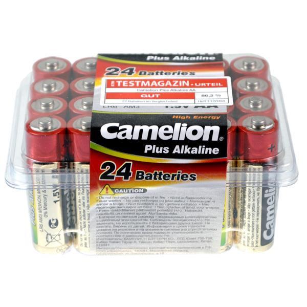 Camelion Alkaline Plus Mignon AA LR06 Batterien 1,5Volt AlMn - in 24er Box