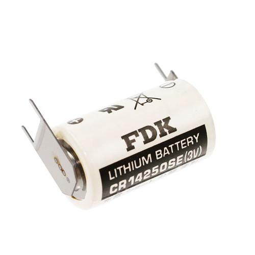 SANYO/FDK CR14250SE Laser Lithium Batterie 3,0Volt mit 3er Print