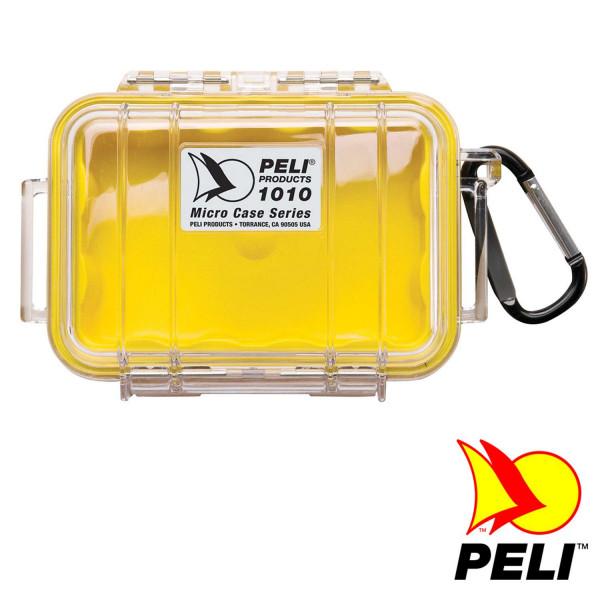 Peli™ 1010 Schutzkoffer, Micro Case gelb/transparent