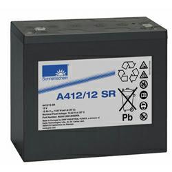 Exide Sonnenschein Bleiakku Dryfit A412/12SR 12,0Volt 12,0Ah mit 6,3mm Steckanschlüssen