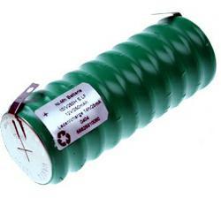 Varta 10/V250H Knopfzellenakku 10,0Volt 250mAh NiMH 10er-Säule mit Lötfahnen in U-Form