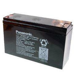 Panasonic Bleiakku LC-R0612P 6,0Volt 12Ah mit 4,8mm Steckanschlüssen