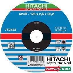 HiKoki Trennscheibe A24R 115 x 2,5 x 22,2 mm für Metall (25Stk.)