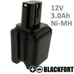 12V Knollen Akku passend für Bosch 2 607 335 158 mit 3,0Ah Ni-MH