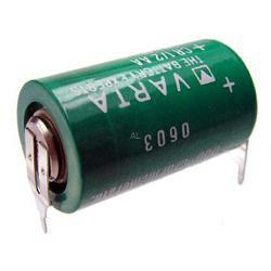 VARTA Lithium Batterie CR1/2AA Spezial-Batterie 3,0Volt mit 3er Print