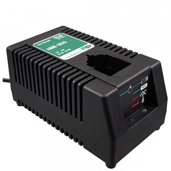 AP Werkzeug-Ladegerät LGDE 1825 für Dewalt DE9130, DE9216, DE9116, DE9117 (für 12-18V Akkus)