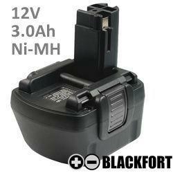 12V O-Pack Akku passend für Bosch 2 607 335 556 mit 3,0Ah Ni-MH