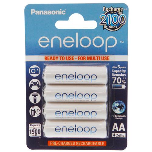 Panasonic Eneloop Mignon (AA) Akku 1,2Volt 1.900mAh NiMH im 4er Pack