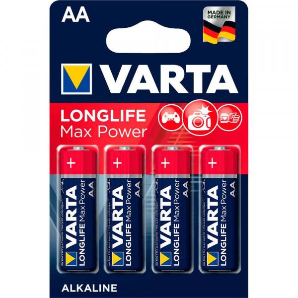 Varta AA Batterien 4706 Max-Power Mignon LR6 - 4er Blister
