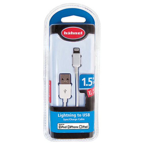 Hähnel Lightning USB-Kabel für Apple iPhone 5 / 5s