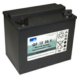 ExideBleiakku Dryfit GF12025YG 12,0Volt 25Ah mit M6-Schraubanschlüssen (Zyklentyp)