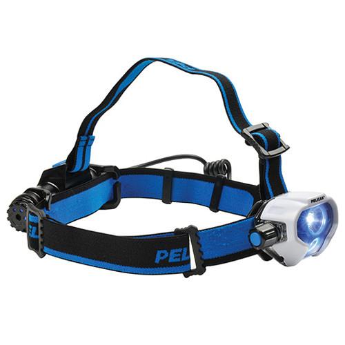 Peli 2780R LED-Stirnlampe, inkl. wiederaufladbare Lithium-Ionen-Batterie