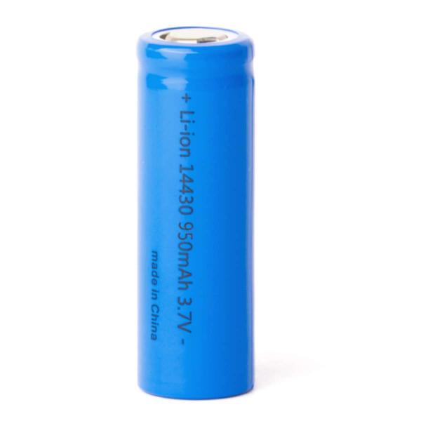 Keeppower 14430 Zelle 950mAh 3,6V - 3,7V, ungeschützt