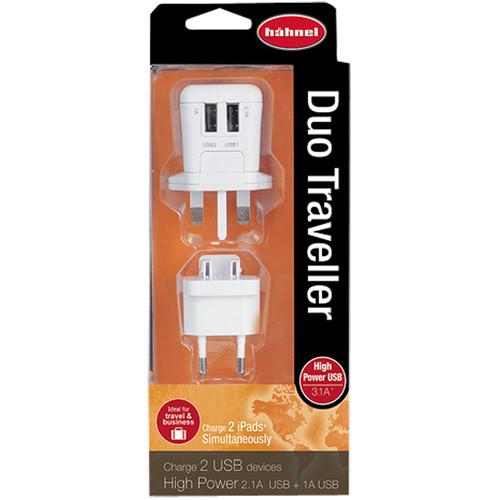 Hähnel USB Reiseladegerät Duo Traveller