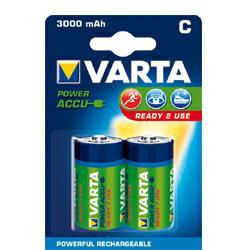 Varta 56714 Power Akku Ready2Use Baby (C) 1,2Volt 3.000mAh (2 Stück / 2er Blister)