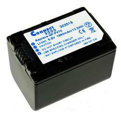 Akku passend für Sony NP-FV70 7,4Volt 1.500mAh Li-Ion (kein Original)
