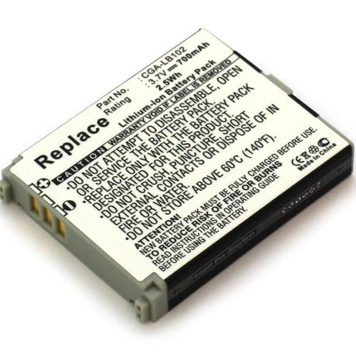 Akku für Panasonic CGA-LB102, KX-TU301 mit 3,7Volt 700mAh Li-Ion