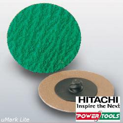 """HiKoki Vliesscheiben High Performance mit Schnellspannverschluss System """"R"""", 51mm, K120 (100Stk.)"""