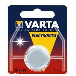 Varta CR2320 Knopfzelle Batterie 3 Volt 130mAh