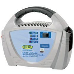 Ring RECB206 Batterieladegerät für 6V & 12V Bleisäure-Batterien mit 20-70Ah