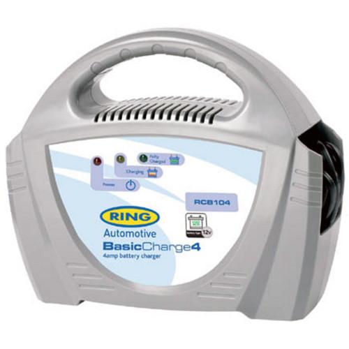 Ring RECB104 Batterieladegerät für 12V Bleisäure-Batterien mit 20-50Ah