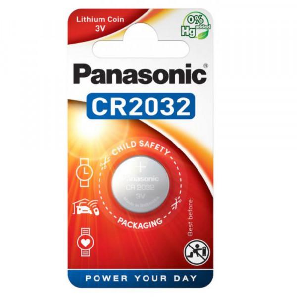 Panasonic CR2032 Lithium-Knopfzelle 3,0Volt 210mAh
