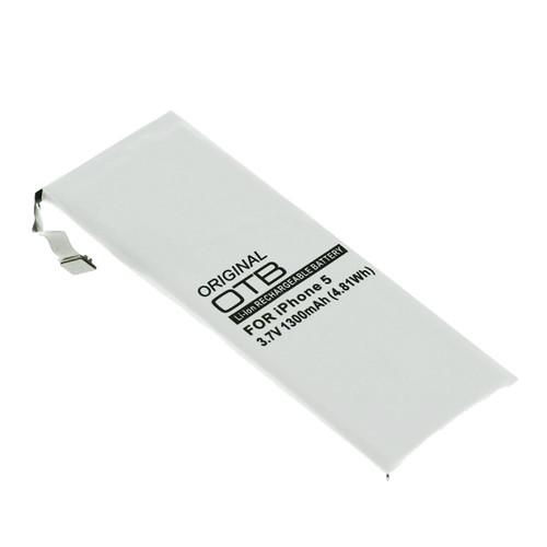 Ersatzakku für Apple iPhone 5 mit 3,7Volt 1300mAh (kein Original)