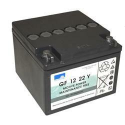 Exide Dryfit GF12022YF Bleiakku 12,0Volt 22,2Ah mit M5 Schraubanschluss