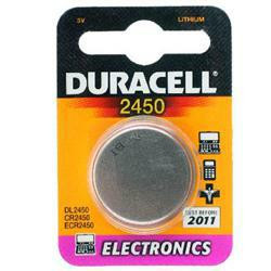 Duracell DL2450 Lithium Knopfzelle CR2450