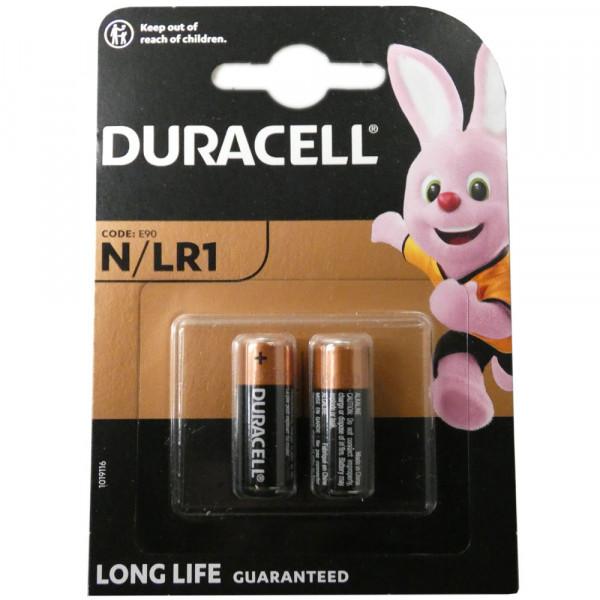 Duracell LR1 Lady (N) Batterie MN9100 1,5Volt AlMN im 2er Blister