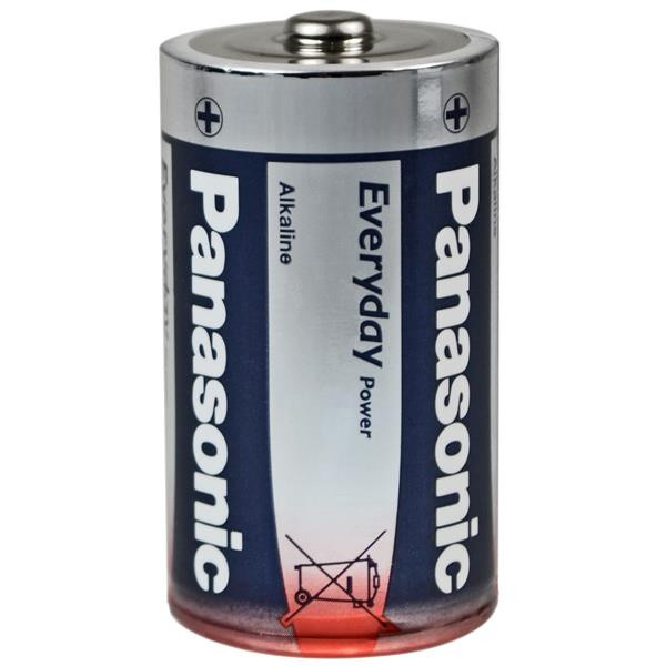 Everyday Power Mono PANASONIC LR20 Batterien im Doppelpack
