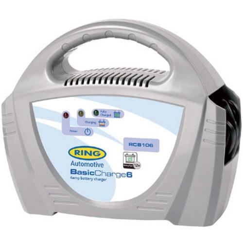 Ring RECB106 Batterieladegerät für 12V Bleisäure-Batterien mit 20-70Ah