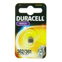 Duracell D362 Knopfzelle