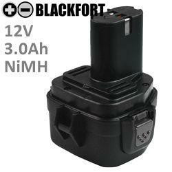Akku passend für Makita 1234 mit 12V 3,0Ah Ni-MH